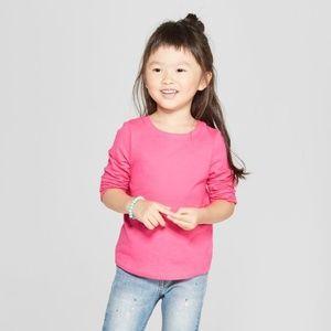 Toddler Girl Long Sleeve Tee